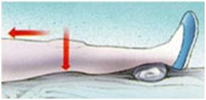 حرکت صاف کردن زانو-