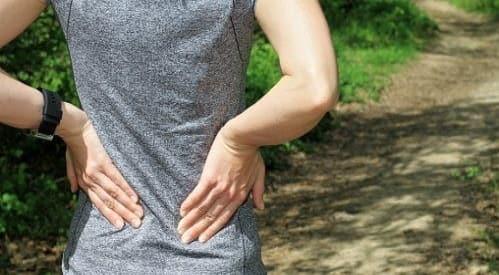 درد از عوارض گودی کمر
