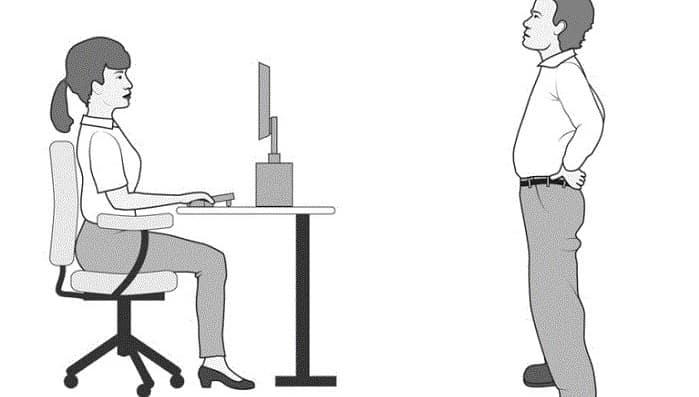 نحوه صحیح نشستن برای پیشگیری از گودی کمر