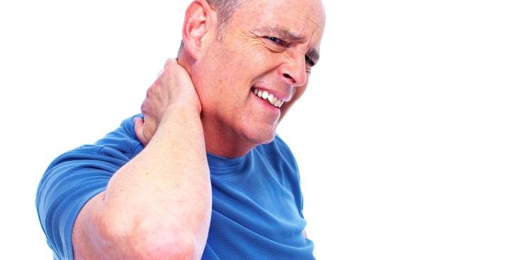وجود درد در گردن