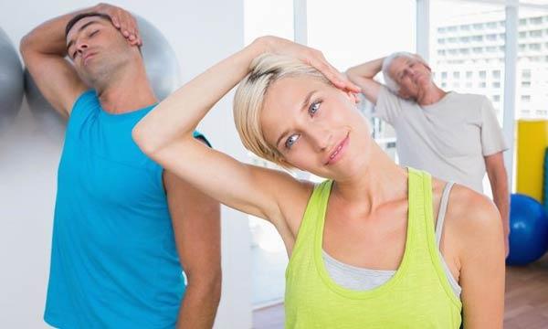 ورزش های نوین برای درد آرتروز گردن