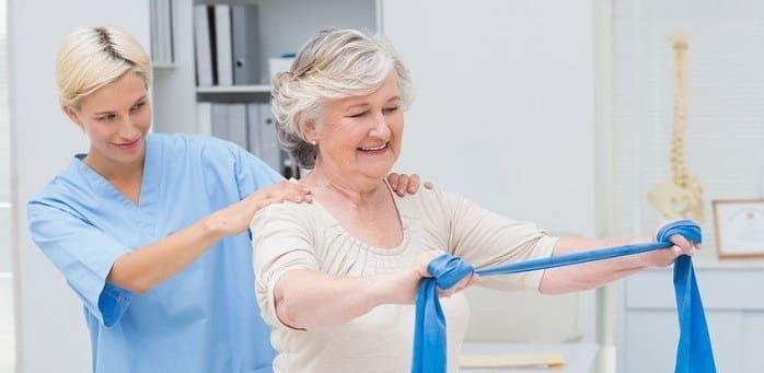 ورزش برای درمان رادیکولوپاتی گردن