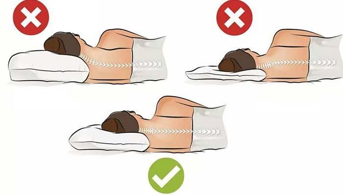 وضعیت خواب خود را در نظر بگیرید برای جلو گیری از درد گردن