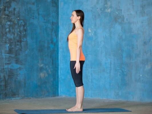 تمرین حفظ حالت صحیح بدن